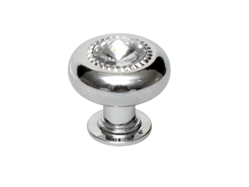 Metal And Diamante Knobs