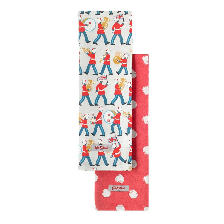 Cath Kidston Marching Band Tea Towel Set