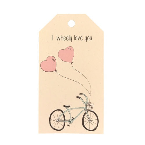 Gift Tag - Wheely Love You
