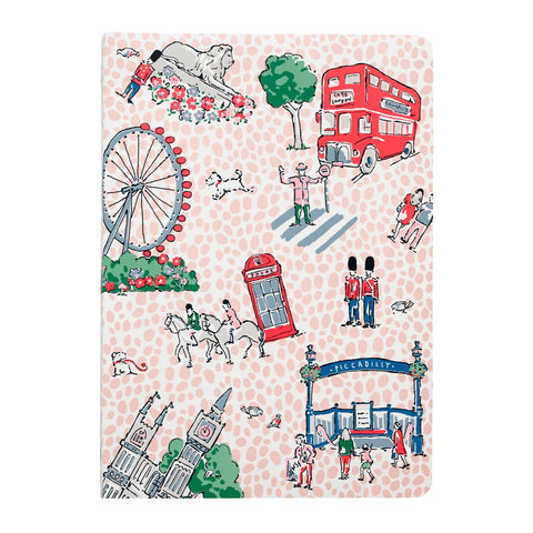 Cath Kidston London Spots A5 Soft Notebook