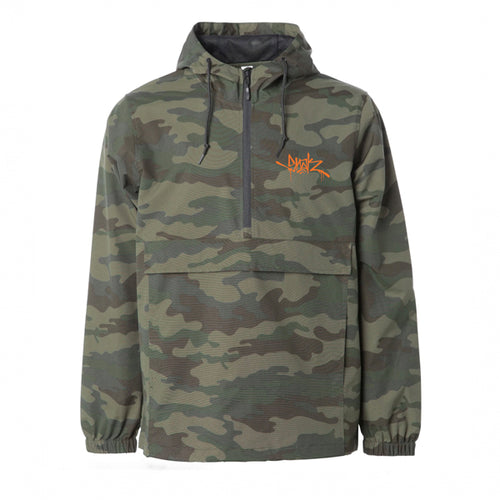 Buck Hunter Camo Windbreaker - Snak The Ripper
