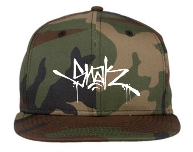 Camo Snak Tag Snapback - Snak The Ripper