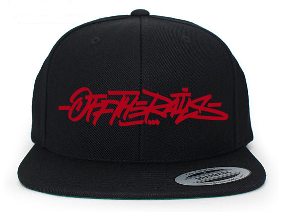 Off The Rails Snapback (Red)