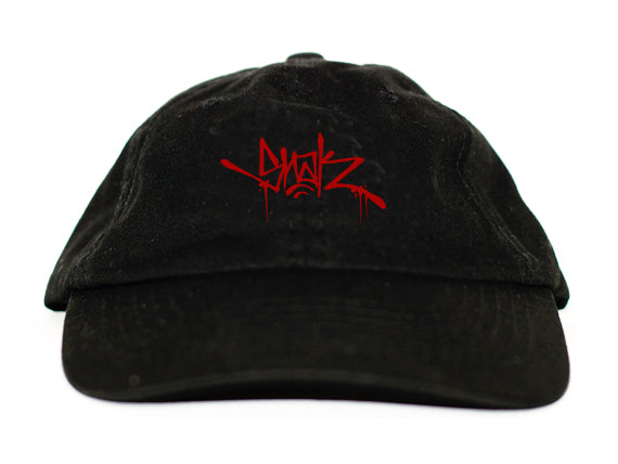 Snak Tag Dad Hat (Red)