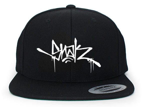 Snak Tag Snapback (Black Hat)
