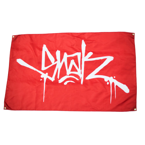 SNAK Flag - Red - Snak The Ripper