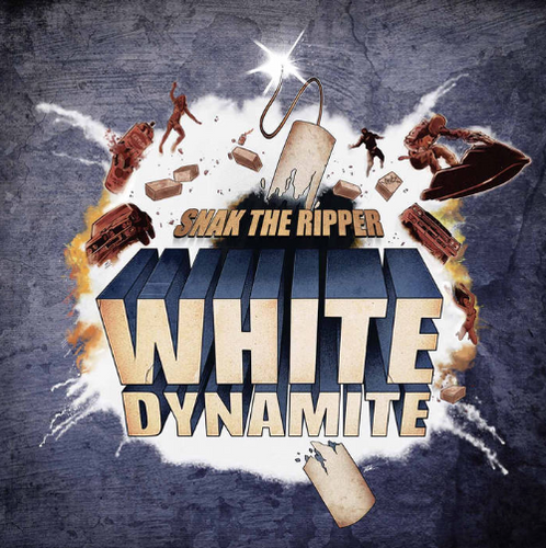 Snak The Ripper - White Dynamite CD - Snak The Ripper