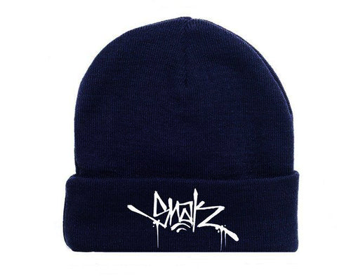 Snak Tag Beanie (Navy) - Snak The Ripper