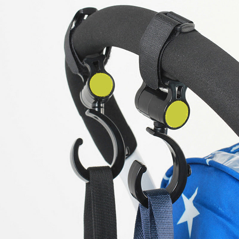 2pc Multifunctional Stroller Hook