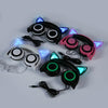 Cute Glowing Cat Ear Headphones