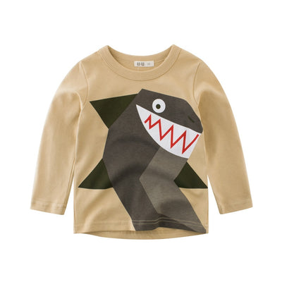 Grinning Shark Long Sleeve Shirt