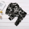 Grey Camouflage 2pc Set
