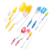 5PC Baby Bottle Brush Cleaning Set