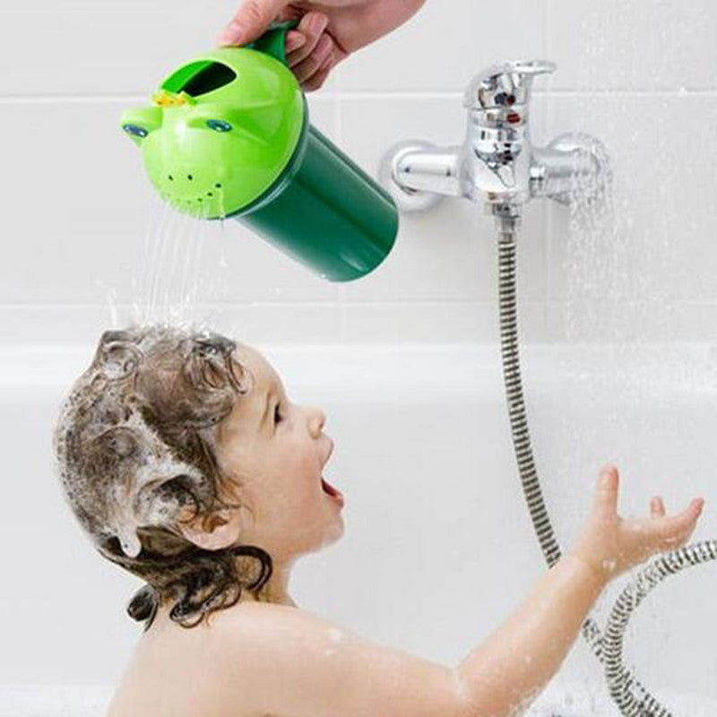 Frog Shampoo Shower Cup – Essentials For Mom