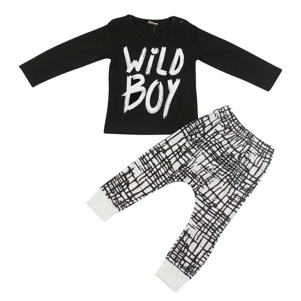 Wild Boy Long Sleeve 2pc Set
