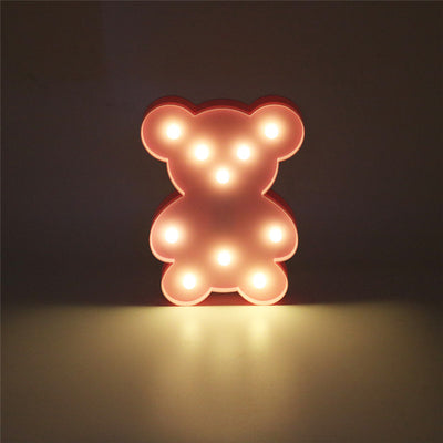 3D Animal Night Lights
