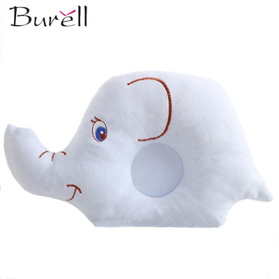 Cartoon Elephant Infant Head Shaping Pillow