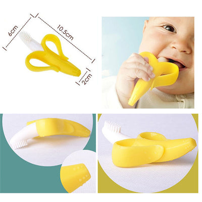 Soothing Banana Toothbrush Teether