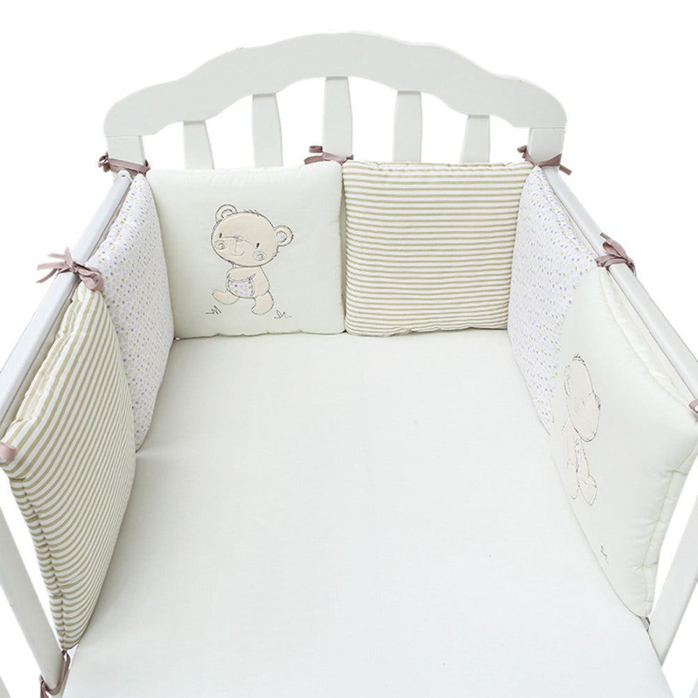 6pc Baby Bed Bumper