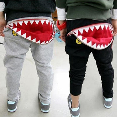 Shark Mouth Harem Pants