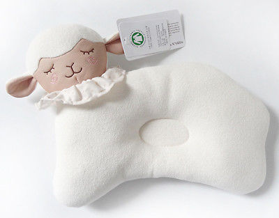 Sheep Memory Foam Infant Head Shaping Pilllow