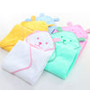 Hooded Bear Baby Bath Towel