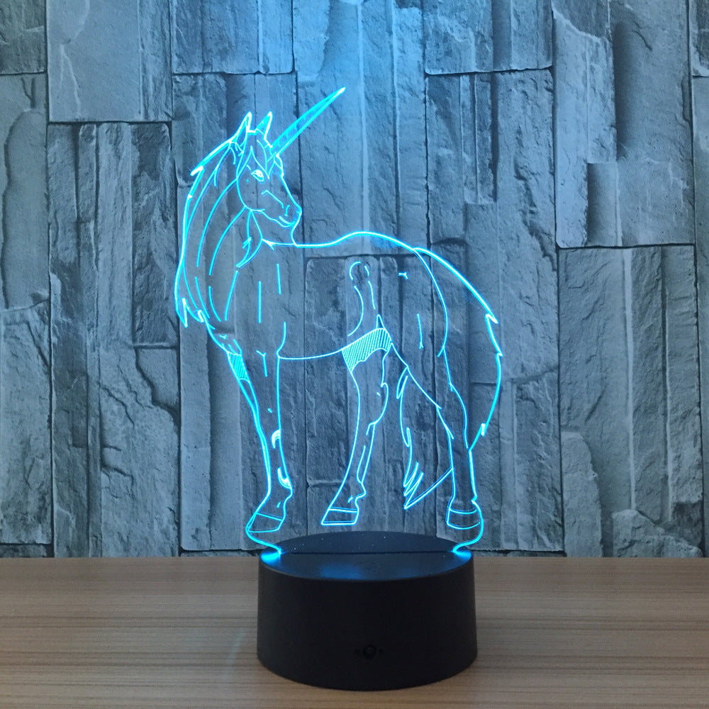 Dazzling Unicorn Night Light