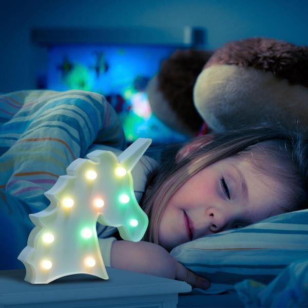 Enchanting Unicorn Head Led Night Light