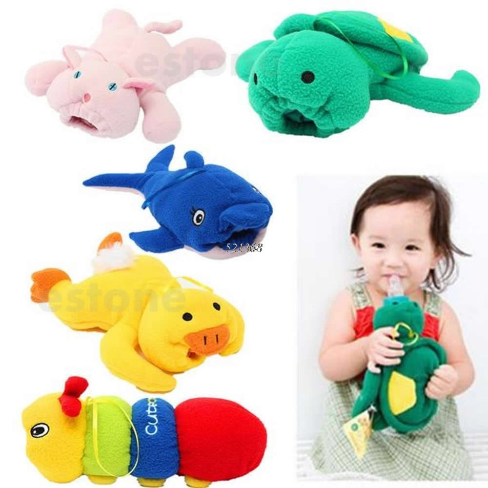 Cute Plush Baby Bottle Warmers