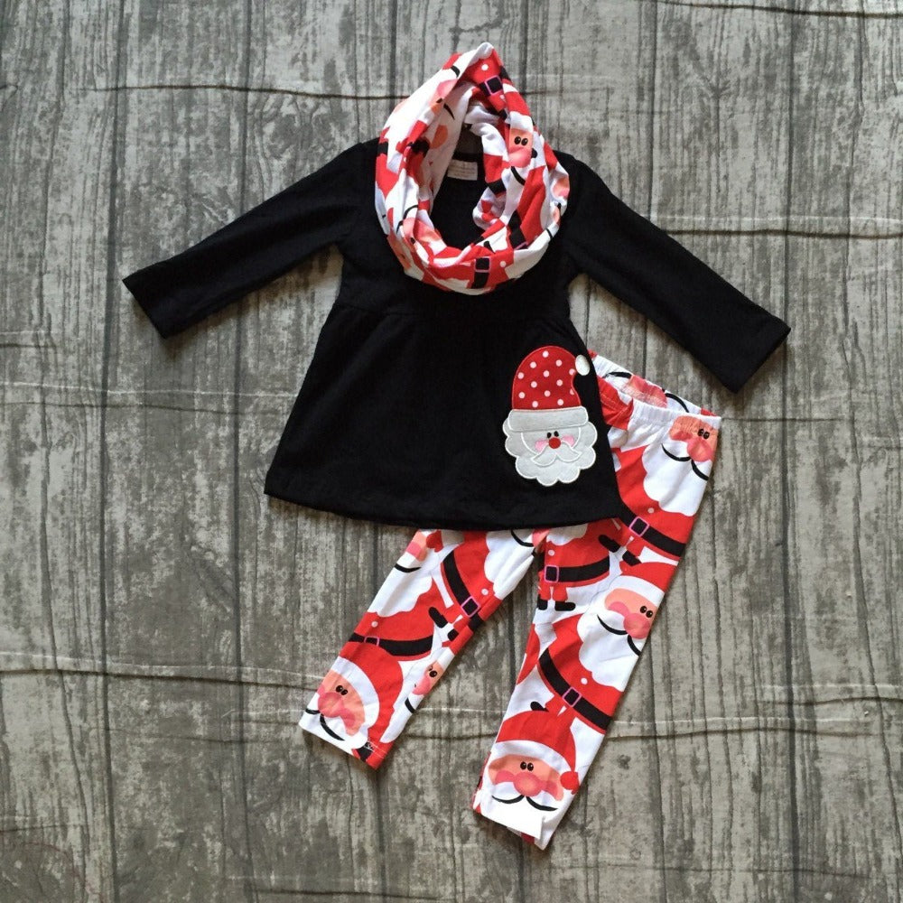Jolly Santa 3 PC Boutique Set