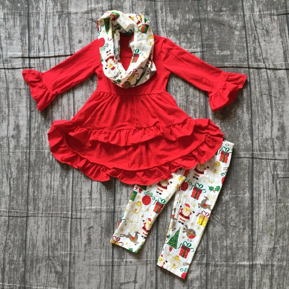 Festive Christmas 3 PC Boutique Set