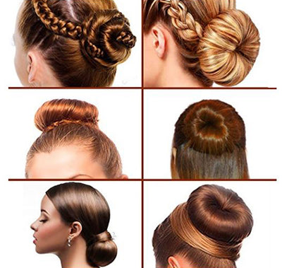 DIY Magic Hair Bun Maker