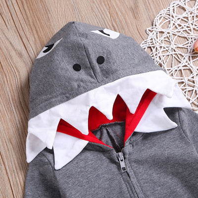 Baby Shark 3D Hooded Jumpsuit