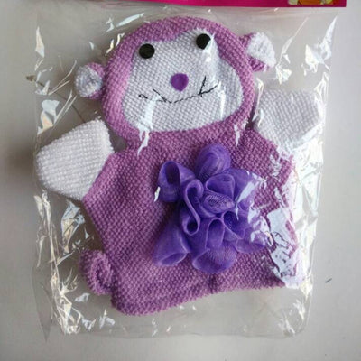 Soothing Gentle Baby Animal Wash Cloth Scrubber