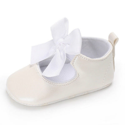 Lace Bowknot Party Shoes