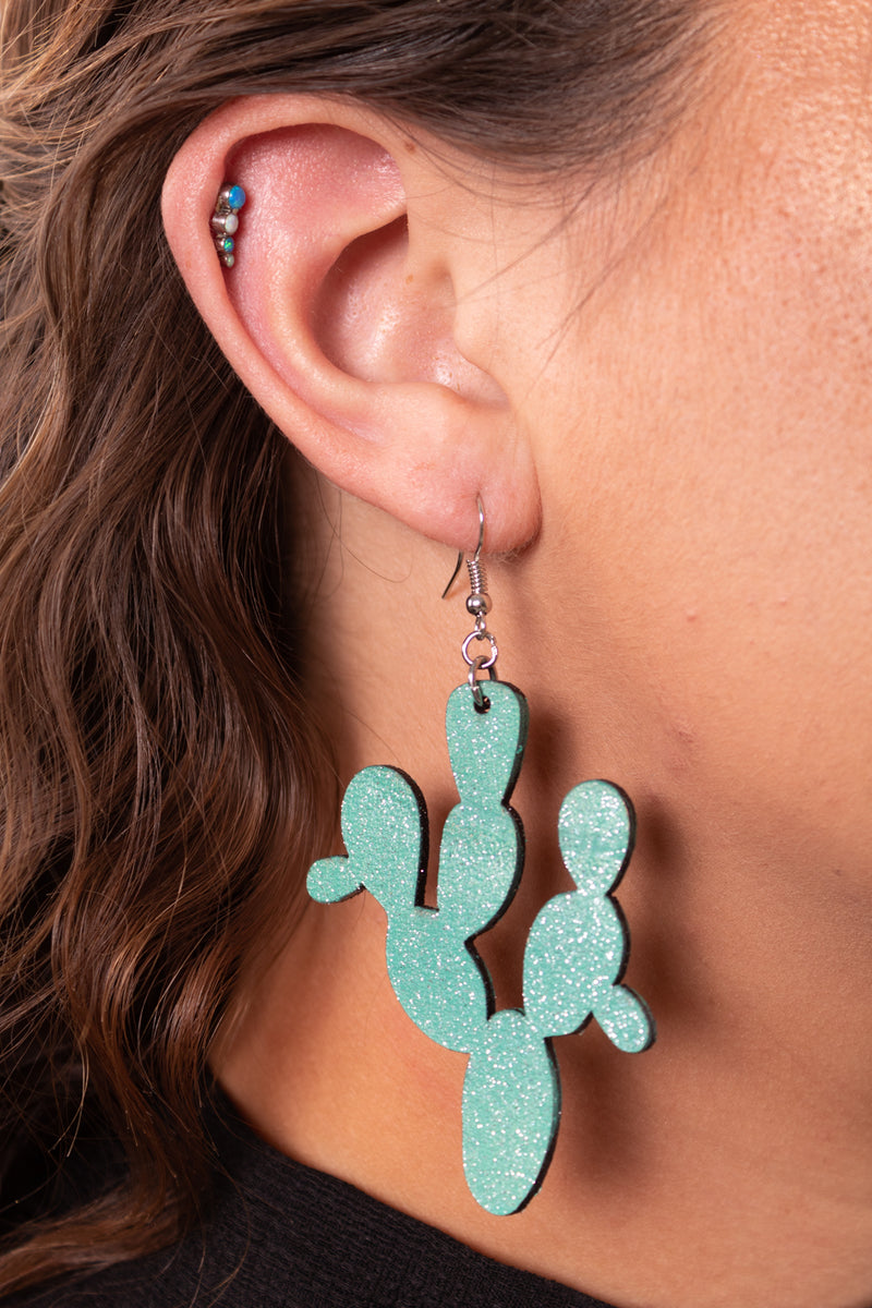 Cactus Dreams Dangle Earrings
