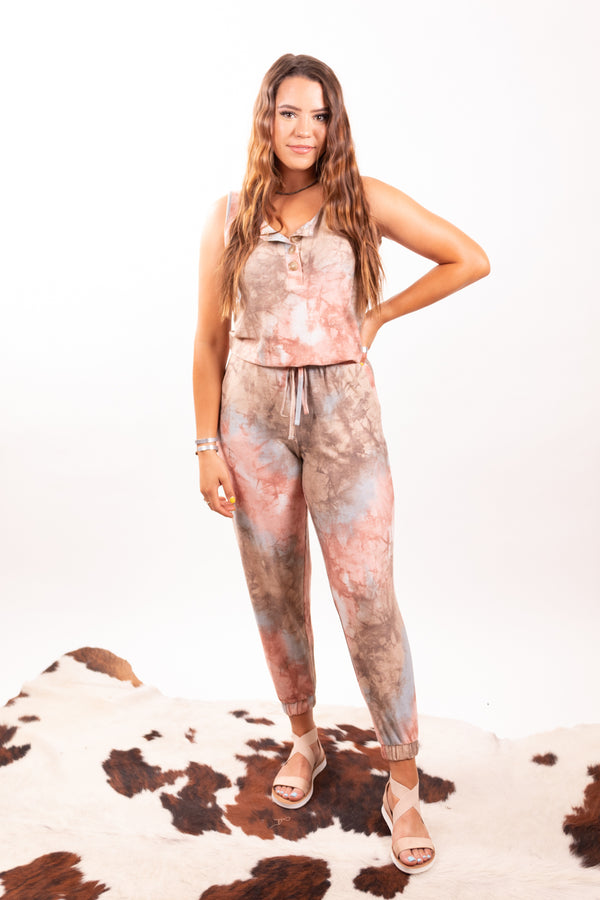 Watercolor Shades Jumpsuit