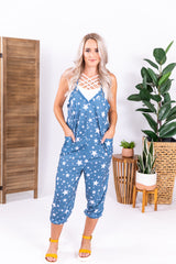 Denim Star Jumper Overalls