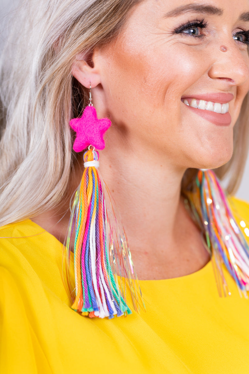 Razzle Dazzle Star Earrings