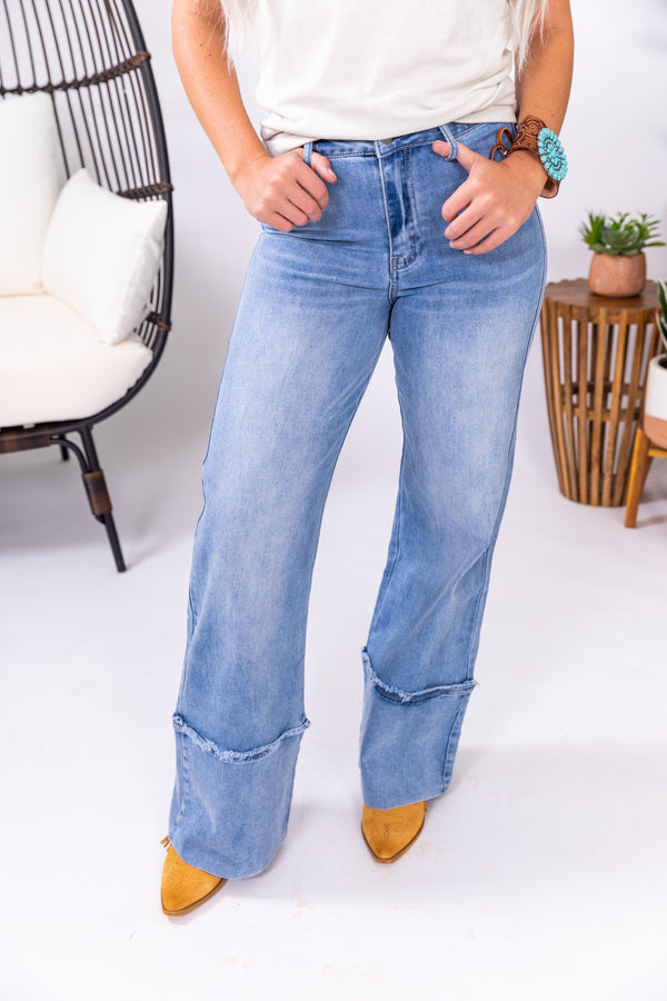 Miss Betty Wide Leg Denim Trouser Jeans