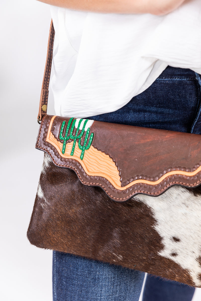 Dimestore Cowgirl Envelope Purse