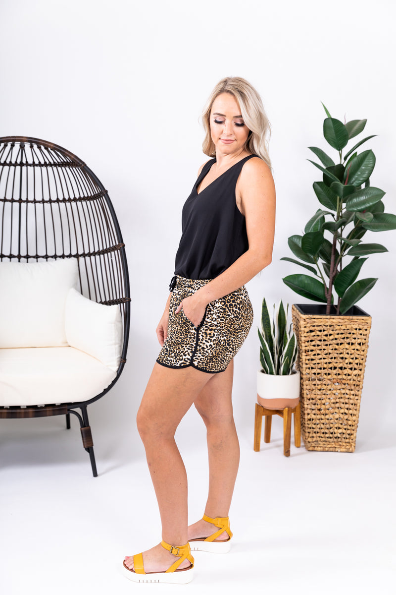 Chic Cheetah Shorts