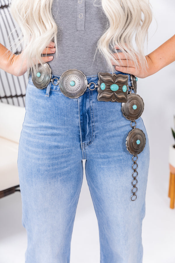 Western Round Up Loop Belt