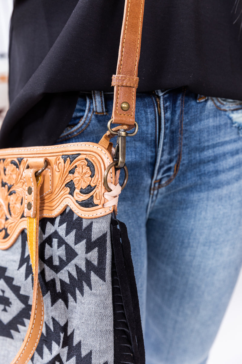 Aztec Dreams Fringe Purse