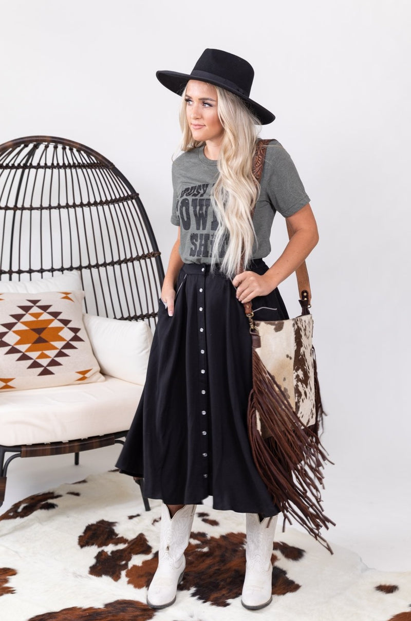 Classic Custom Cowgirl Pearl Snap Skirts