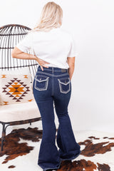 All About Denim Bell Bottoms