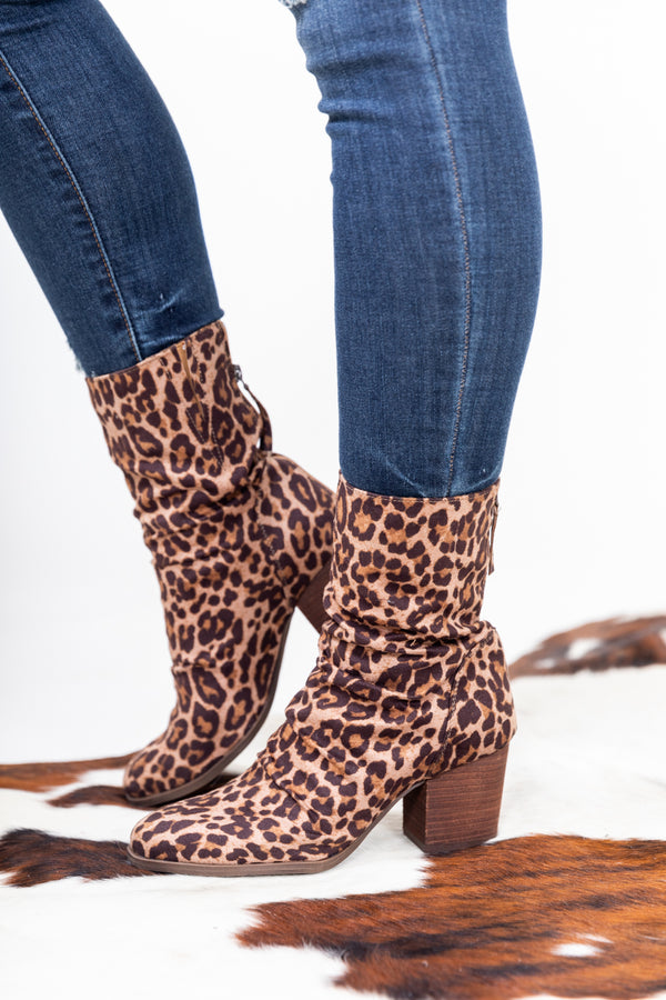 The Preston Leopard Booties