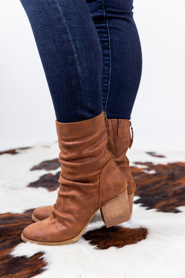 The Preston Saddle Booties