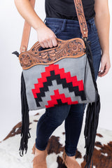 Rodeo Ready Saddle Blanket Bag