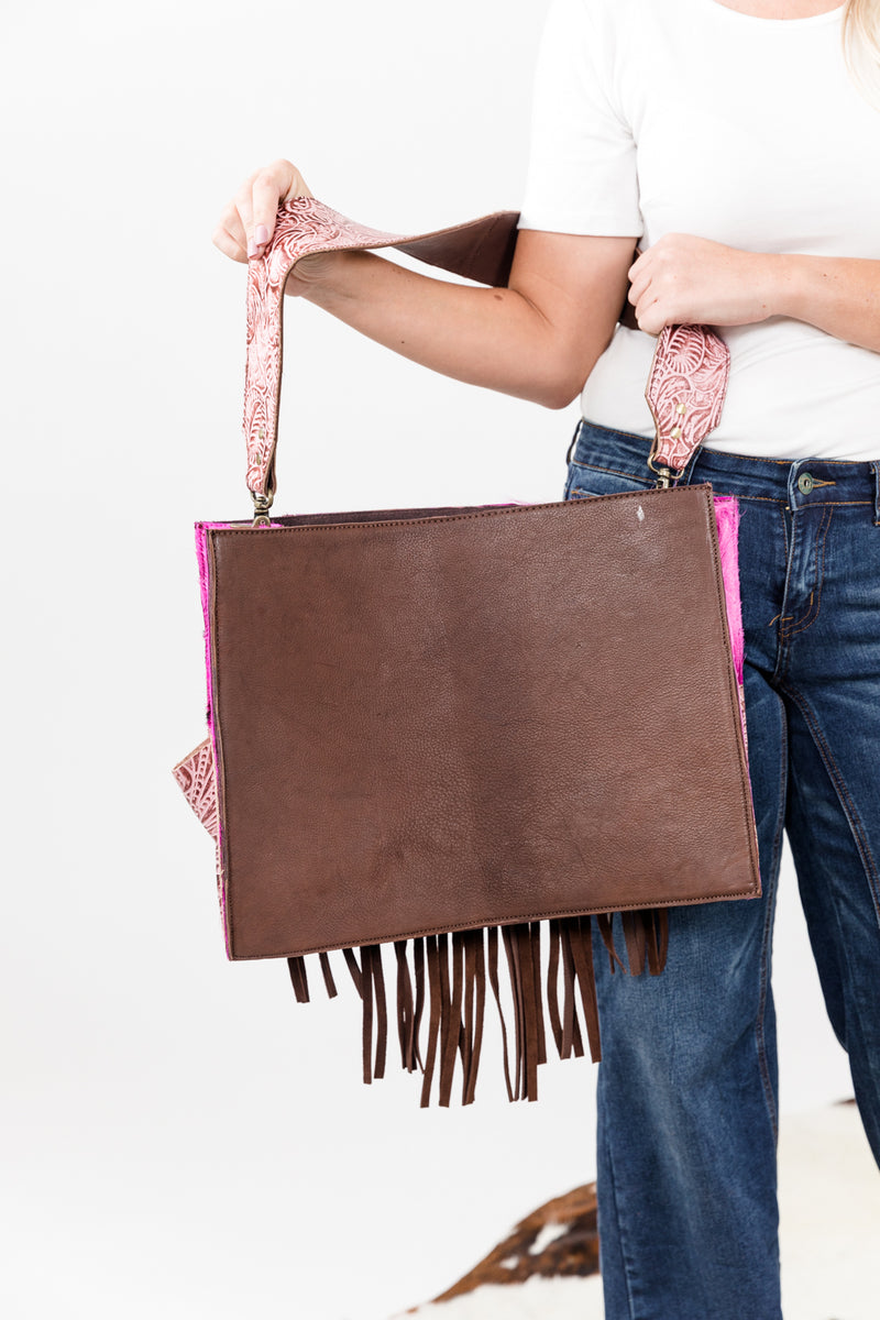 Fringed Out Diaper Bag